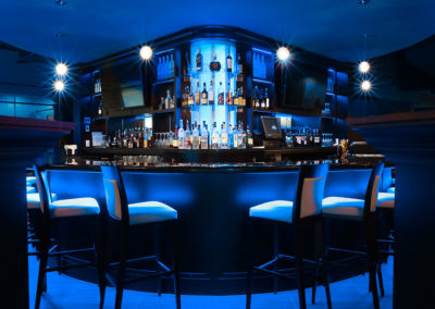 Johnny's Italian Steakhouse Blue Bar