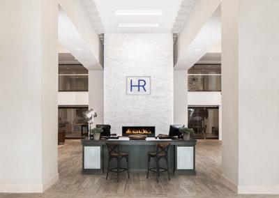 Hotel Renovo front desk