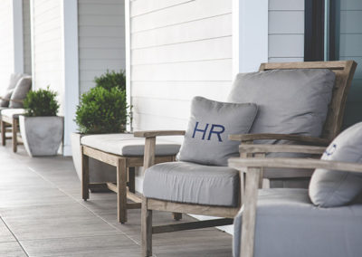 Hotel Renovo outdoor seating