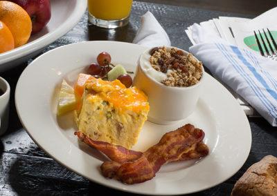 Hotel Renovo breakfast buffet plate