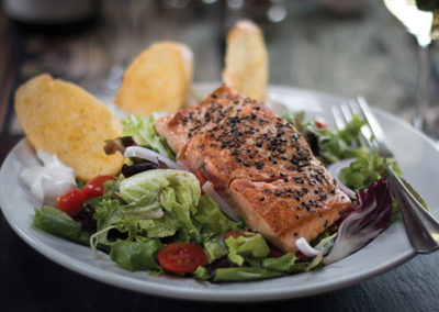 Thunder Bay Grille Salmon Salad
