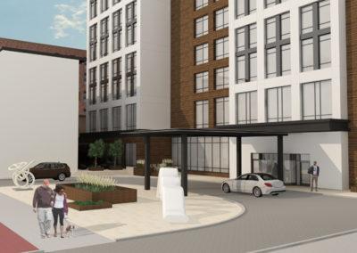 AC Hotel Cedar Rapids rendering