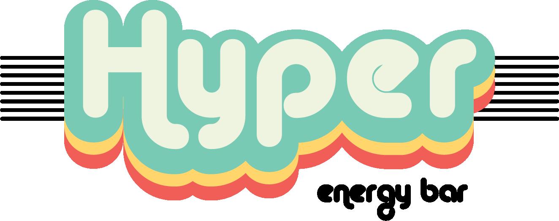 Hyper Energy Bar Black Logo