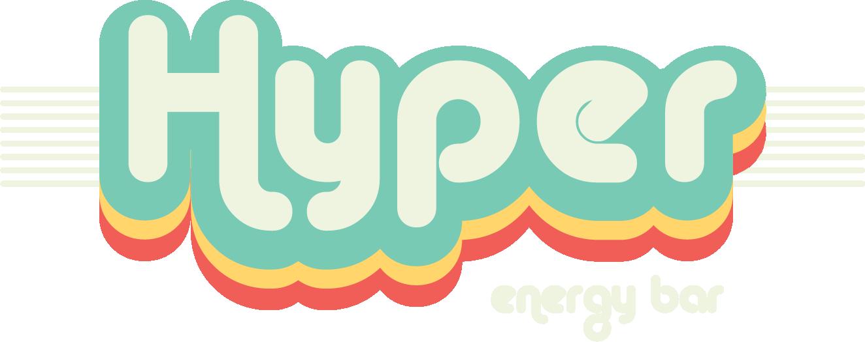 Hyper Energy Bar White Logo